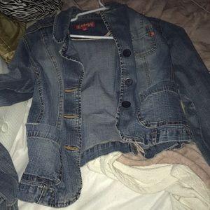 nice business casual jean jacket..very versatile
